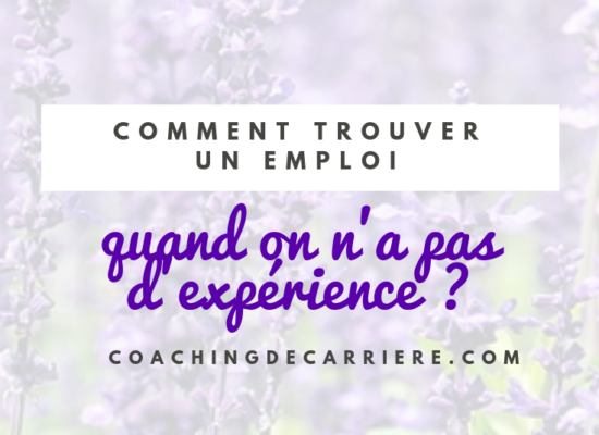Comment Se Vendre Quand On A Peu D Experience Coaching De